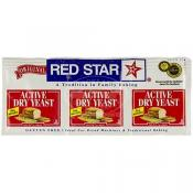 Red Star Active Dry Yeast 3 pk (.25 oz)
