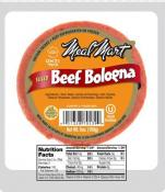 Meal Mart Beef Bologna 6 oz
