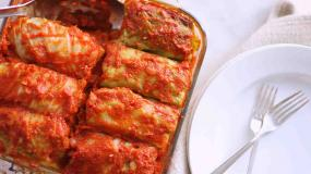 Stuffed Cabbage with Meat (20 Pieces) - Serves 10 People