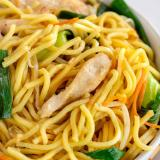 Chicken Lo Mein - Severs 12 People