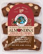 Almondina Almond Cherry Chocolate Biscuits 4 oz.