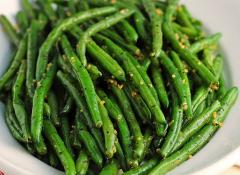 Sauteed String Beans - Serve 6 to 8 People