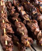 Grilled Lamb Kebabs with Mushrooms & Onions - Serves 12 People