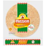 Mission Whole Wheat soft Taco Flour Tortillas 12 oz