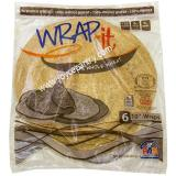 Pas Supreme Wrap -it Whole Wheat Wraps 13 oz