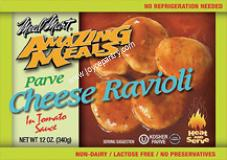 Meal Mart Amazing Meals Cheese Ravioli in Tomato Sauce 12 oz