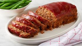 Meat Loaf with Marinara Sauce - Serves 10 People