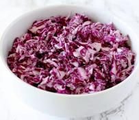 Red Cabbage Salad 8 oz
