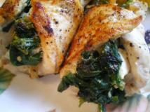 Stuffed Chicken Breast With Spinach 20 Pieces - Serves 12 People